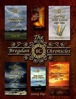 Storm Clouds Rolling In (#1 in the Bregdan Chronicles Historical Fiction Romance Series) by Ginny Dye
