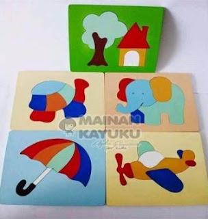 Puzzle Anak TK PAUD
