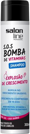 Shampoo SOS Bomba de vitaminas salon line