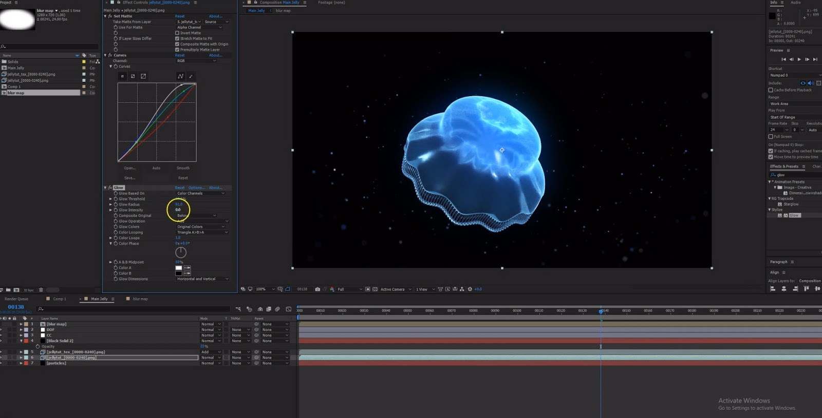 Alien Jellyfish Tutorial with Cinema 4D, Octane Render and