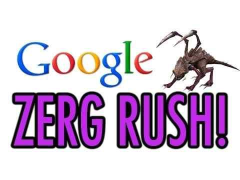 ما هو zerg rush   خدعة جوجل الجديدة zerg rush