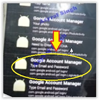 Google Account Manager - galaxy J3 2016