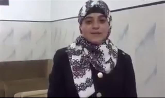 La hija adolescente del terrorista lo elogia en video viral