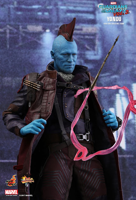osw.zone Hot Toys MMS435 Guardian of the Galaxy Vol.2 1 / 6. Scale Yondu Collector's Edition Preview Pics