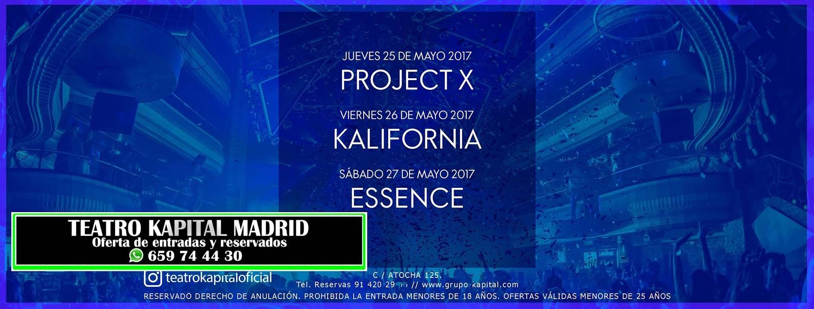 Discoteca kapital madrid 659 744 430 whatsapp mayo 2017 for Kapital jueves gratis