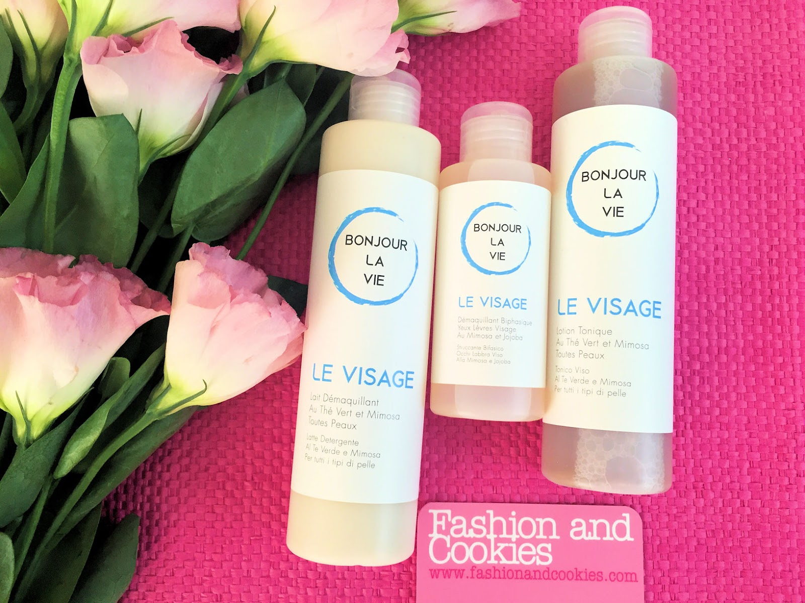 Bonjour La Vie Skincare natural products on Fashion and Cookies beauty blog, beauty blogger
