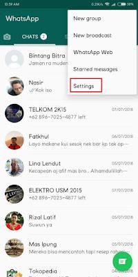 WhatsApp atau masyarakat Indonesia menyebutnya dengan istilah WA adalah aplikasi lintas p Cara Mencadangkan Chat WhatsApp (WA) Agar Tidak Hilang