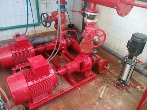 Fire Pump Room Design, Details and Requirements PDF Notes