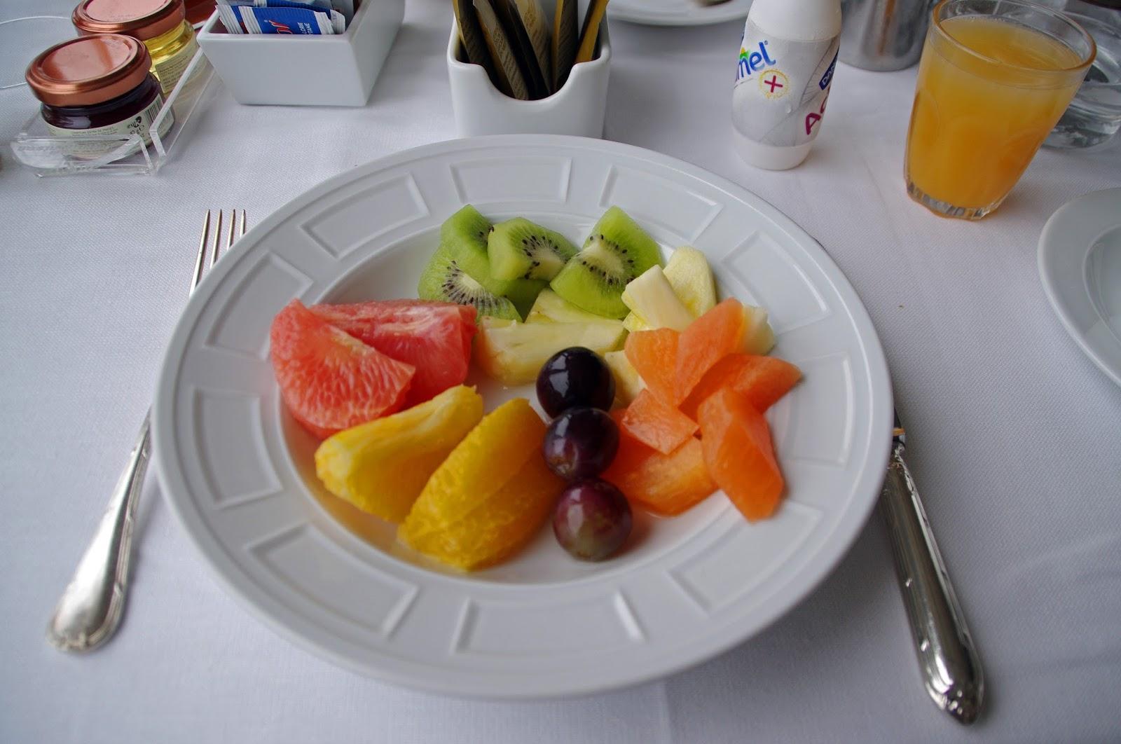 Westin Europa & Regina Venice Breakfast