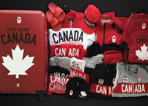 Hudson's Bay Rio 2016 Team Canada Kit Contest