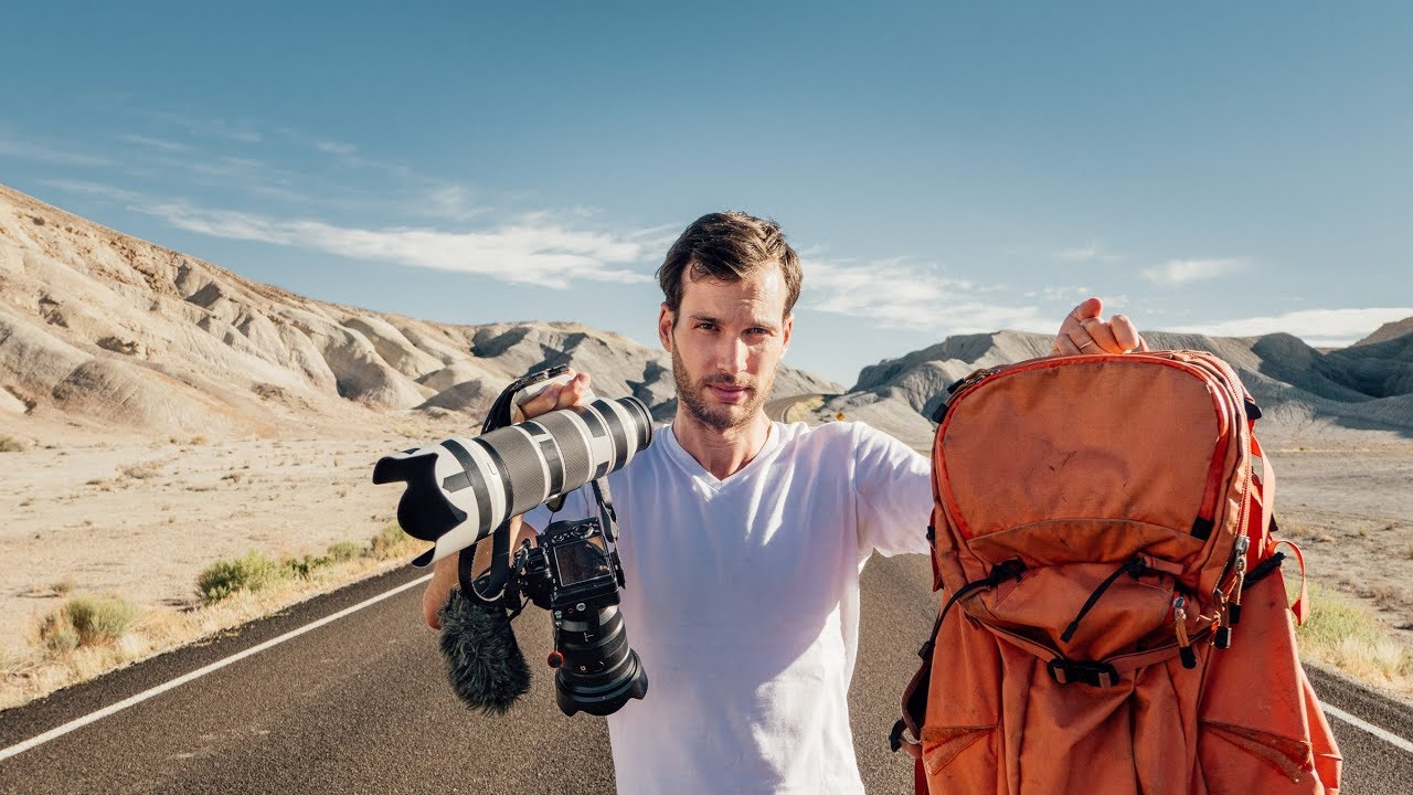 Travel Photography Gear: What´s inside Pierre Lambert´s CAMERA Bag for a World Tour