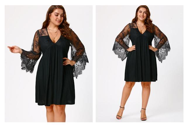 Plus size party choice/ dresses.