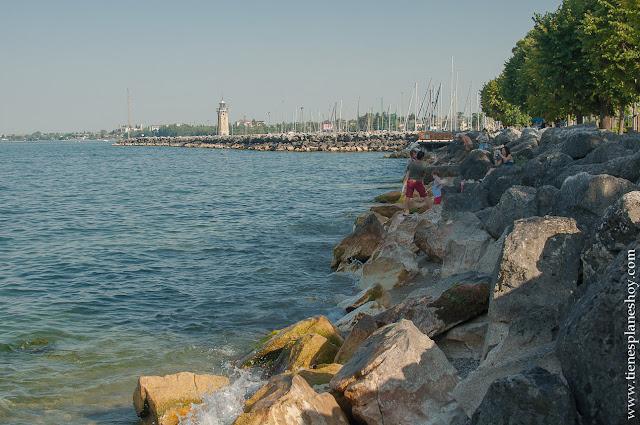 Lago di Garda desde Desenzano Italia