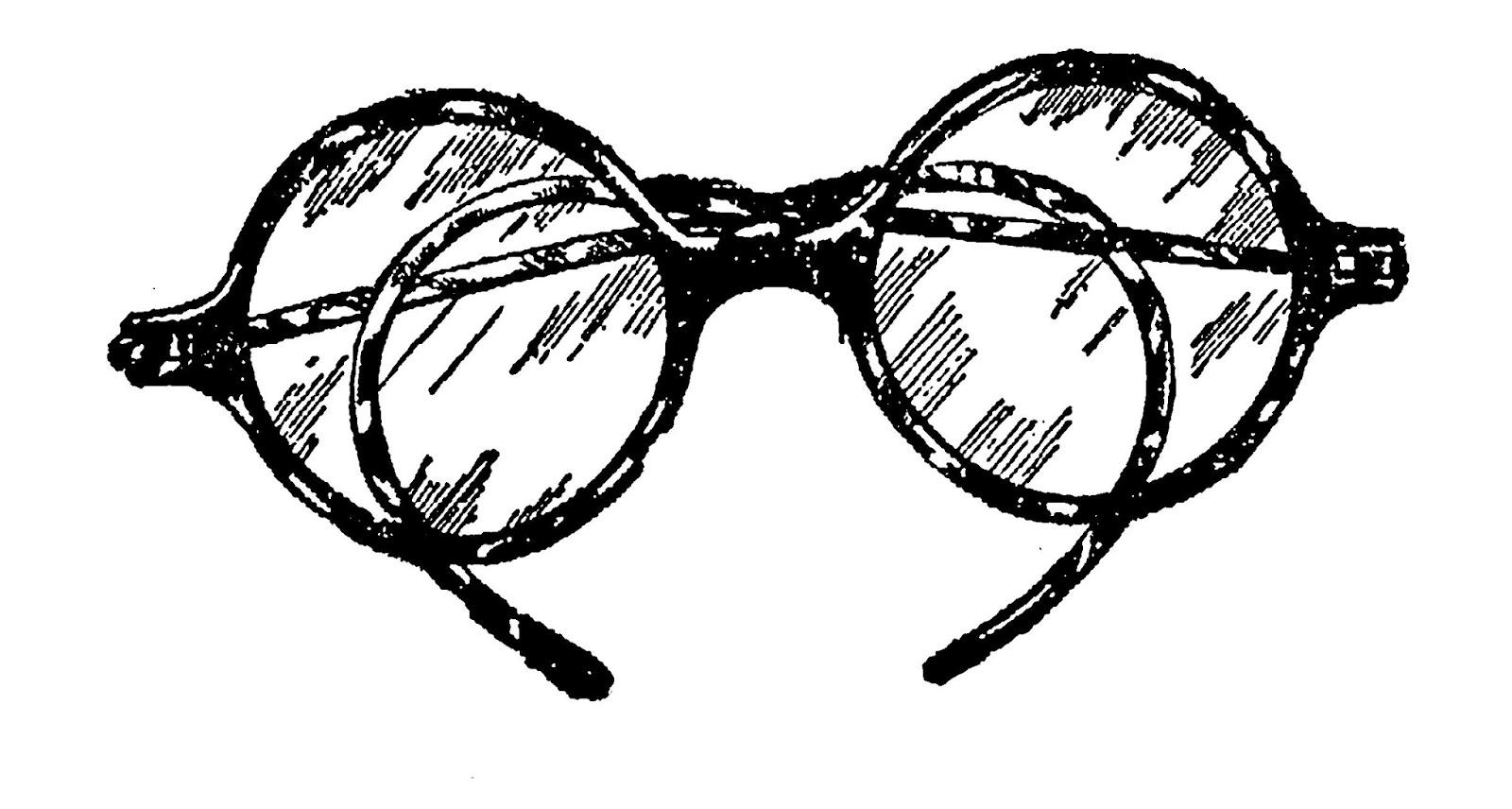 Digital Stamp Design Vintage Goggles Eye Glasses Images