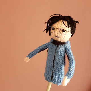 Knitted Yuri Katsuki by Nicky Fijalkowska