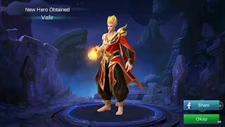 Cara Menggunakan Hero Valir Mobile Legends