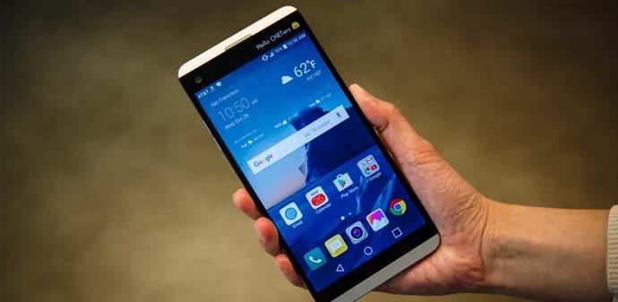 HP Android Nougat - LG V20