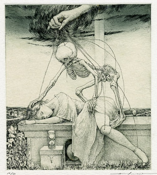 Alphonse Inoue - Death and the Maiden