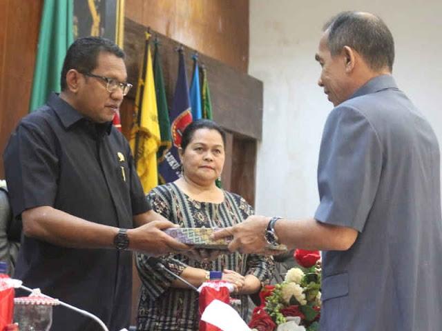 Said Assagaff Usul 5 dan Tarik 2 Ranperda Provinsi Maluku 2018