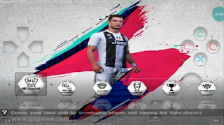 Download PES 2019 Damon PS2 Android New Kits & Update Transfers