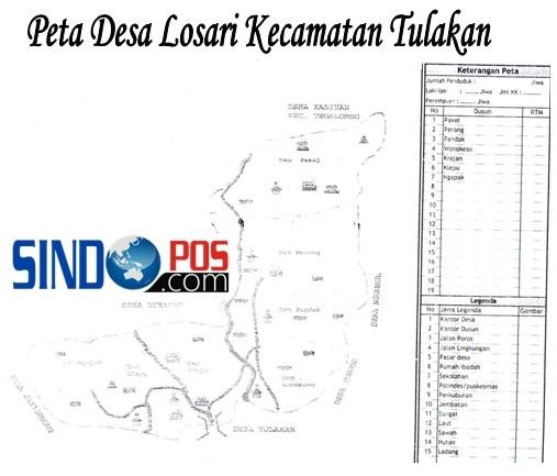Profil Desa & Kelurahan, Desa Losari Kecamatan Tulakan Kabupaten Pacitan