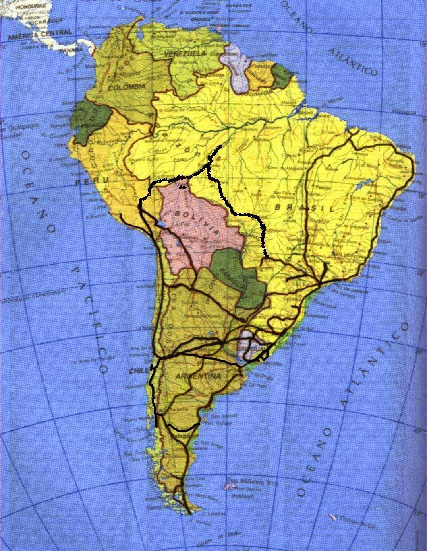 mapa+viagens+realizadas - AVENTURA: MOTOS ESPORTIVAS - QUEBRANDO PARADIGMAS?