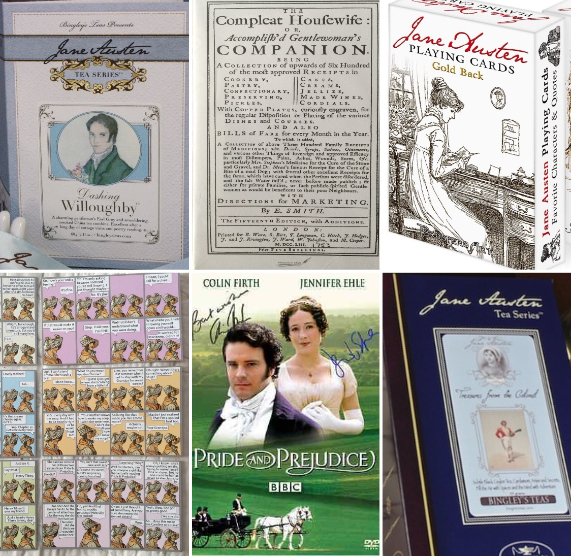 TWO Jane Austen prize packs!