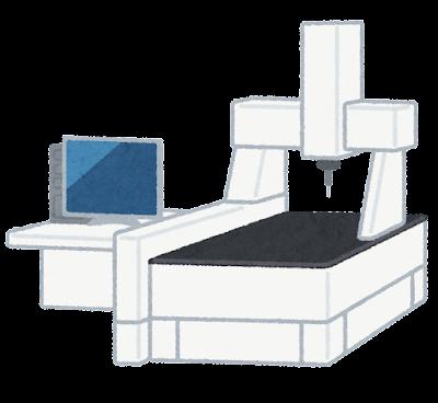 三次元測定機のイラスト