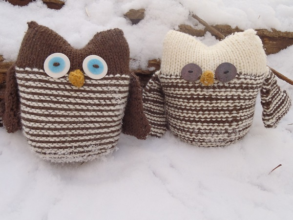 Stanas Critters Etc Knitting Pattern For Otto The Owl