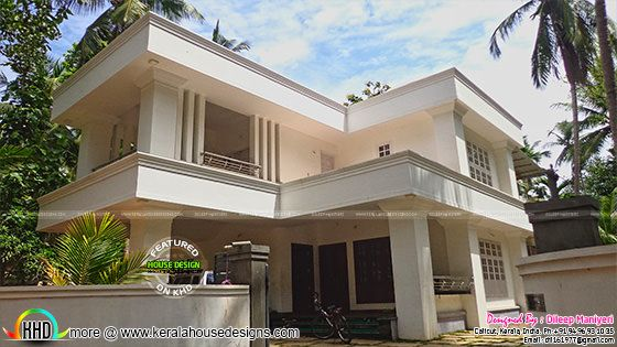 Arabic style house construction in kerala kerala home for Arabic home designs