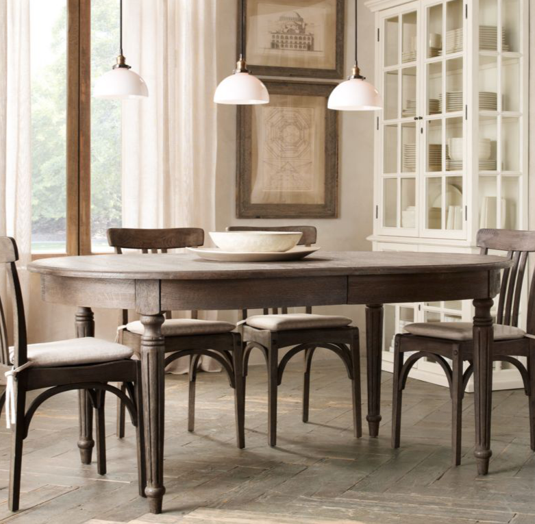 Restoration Hardware Kitchen Tables: Mel & Liza: Dining Room Design For Less