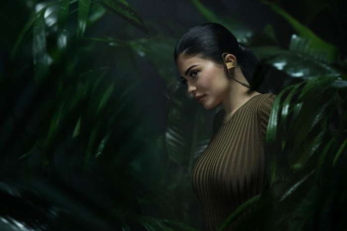 Kylie Jenner Stars in Balmain x Beats By Dr. Dre Campaign