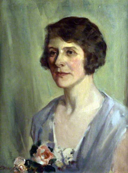 David Prophet Ramsay, International Art Gallery, Portrait of Vera, The Artist's Wife, Beatrice Elizabeth Ramsay