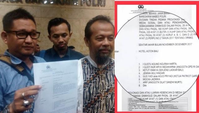 10 Pelaku Persekusi Ustad Abdul Somad Resmi Dilaporkan ke Bareskrim, Ini Daftar Nama Mereka