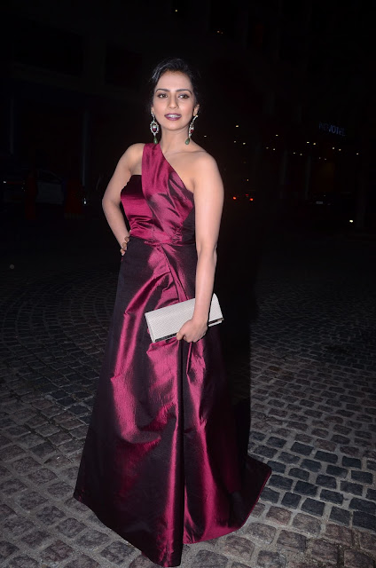 Actress Shruti Hariharan at 64th Jio Filmfare Awards South