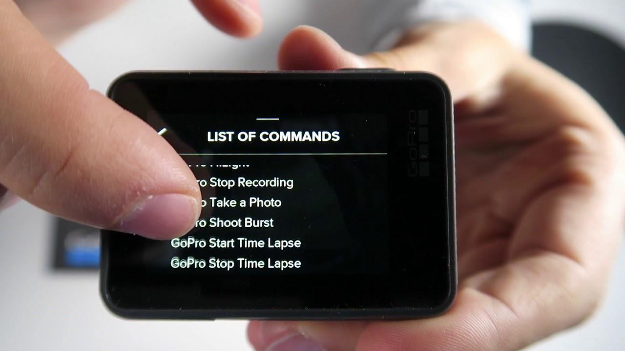 Hướng dẫn sử dụng Gopro Hero 6