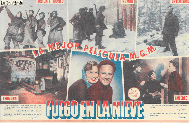 Fuego en la Nieve (Doble) - Programa de Cine - Van Johnson - John Hodiak - Ricardo Montalbán