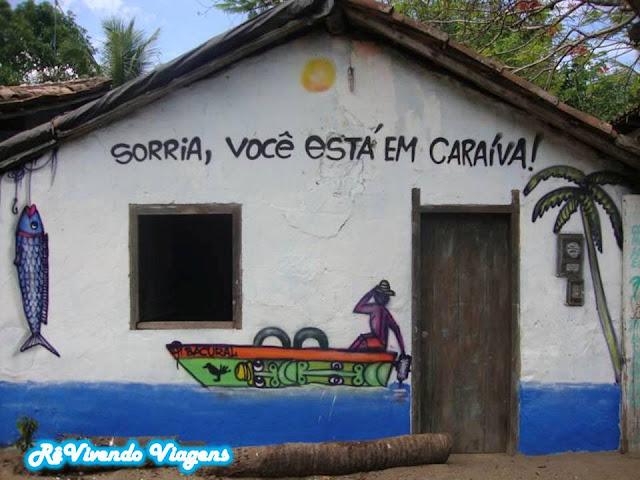 Sorria, você está em Caraíva