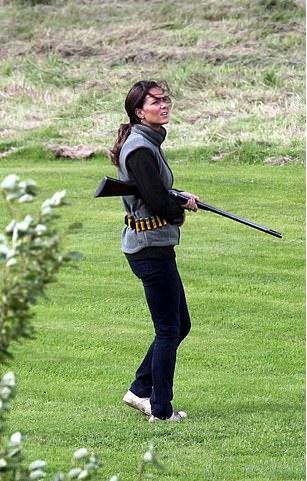 Kate Waited Until Meghan Left Sandringham To Go Shooting With Her Own 20-Bore Shotgun