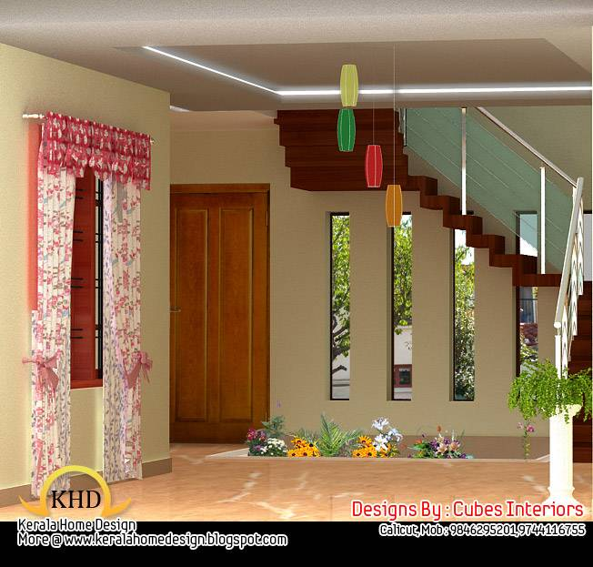 Home interior design ideas kerala home design and floor for House interior design ideas for small house