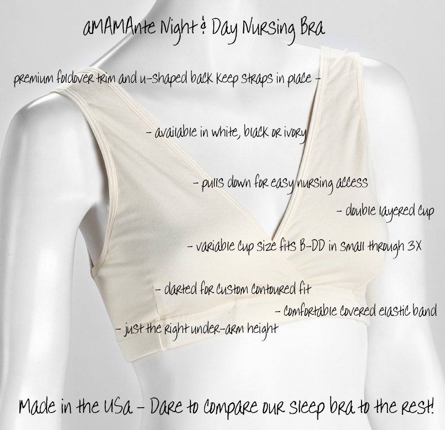 c6284320e8 When should you buy your sleep bras for breastfeeding  Anytime you begin to  leak colostrum in the last trimester
