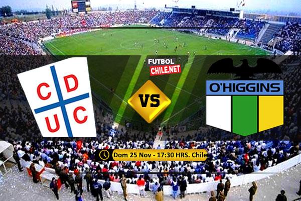 Mira Universidad Católica vs O'Higgins en vivo y online por la Primera División