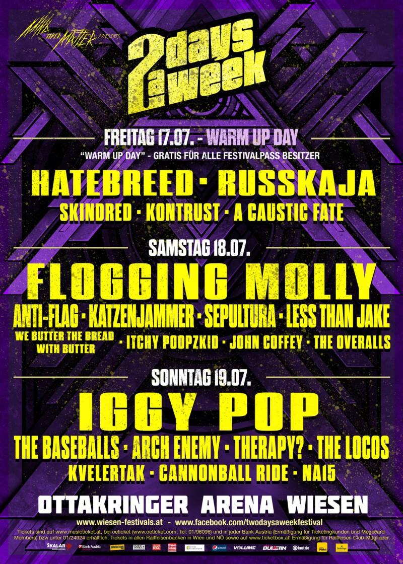 Volume Injection Live Loud Nova Rock 2016 Tag 2