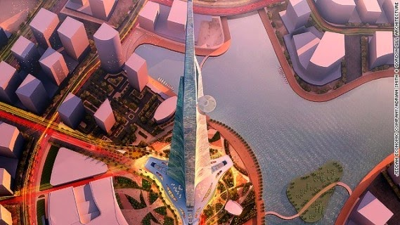 Kingdom Tower Jeddah Saudi Arabia