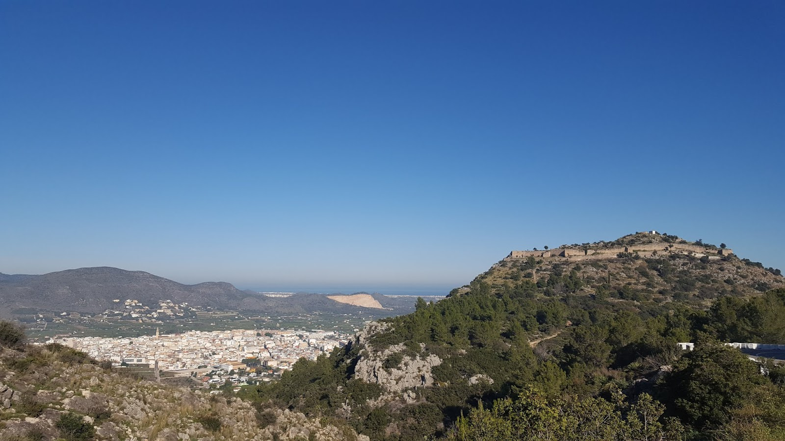 Cycling in Spain, Pego, Province of Alicante