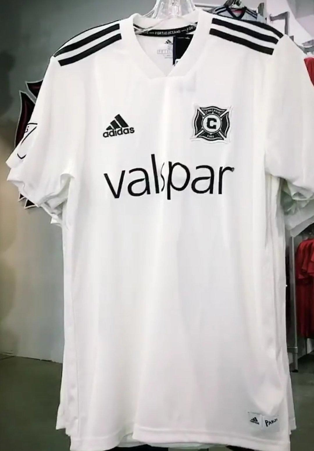 7caee1c06 Adidas Parley Chicago Fire 2018 Kit Leaked
