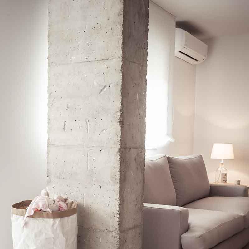 Hogar diez impresionante reforma de una vivienda en madrid - Reforma vivienda madrid ...