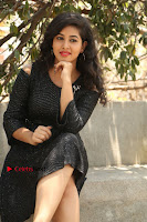 Telugu Actress Pavani Latest Pos in Black Short Dress at Smile Pictures Production No 1 Movie Opening  0067.JPG