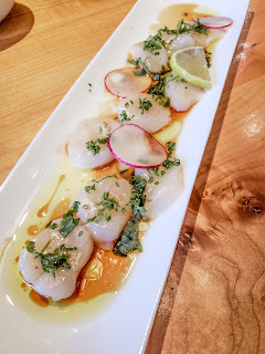 seattle tukwilla blogger foodie sea scallops