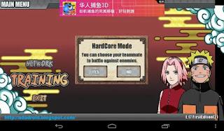 Naruto Senki v1.17 First 2 Original Apk Hardcore Mode (Unlimited Coin)